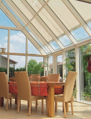 Markilux 8800 retractable conservatory awning
