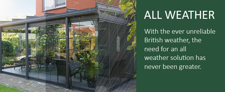 All Weather Awnings from Samson Awnings & Terrace Covers