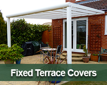 Fixed Roof Terrace Cover Range