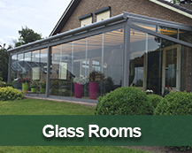 outdoor glass garden rooms