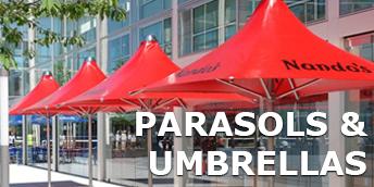 Commercial parasols