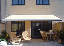 Patio awning for sun shading solutions
