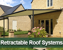 Retractable Roof and Canopy System Range