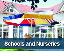 protect from the sun in schools and nurseries