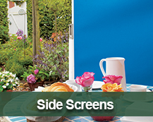 Side Screens for privacy and shading