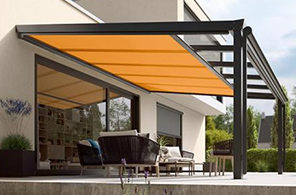 conservatory awnings samson awnings terrace covers. Black Bedroom Furniture Sets. Home Design Ideas