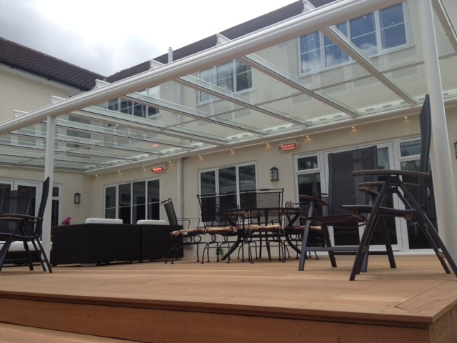 Terrazza Glass Veranda with heating