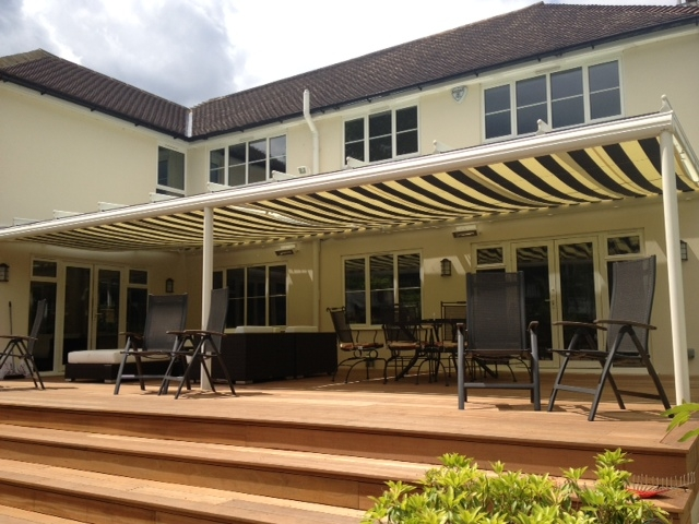 Terrazza Glass Veranda with awning