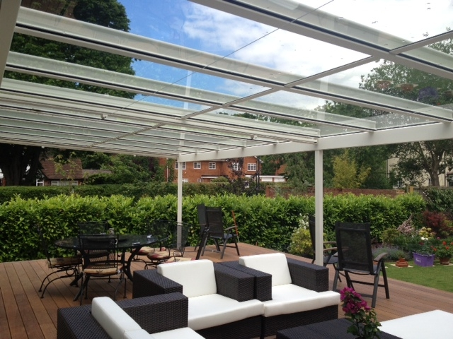 Terrace covers polycarbonate glass verandas fixed for Terrace with roof