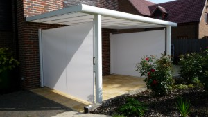 Side Screen Awning and Veranda