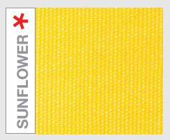 Suflower Yellow Fabric Sample of paraflex umbrella