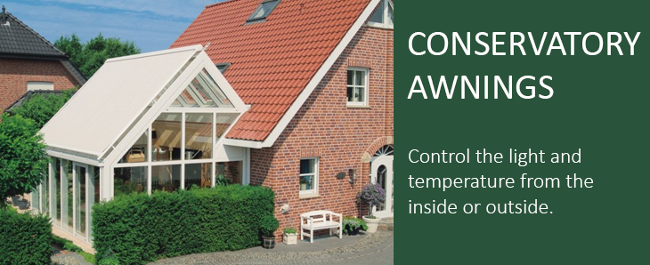Conservatory Awnings and Blinds for heat control