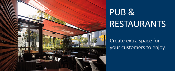 Pubs & Restaurants Awnings and Canopies