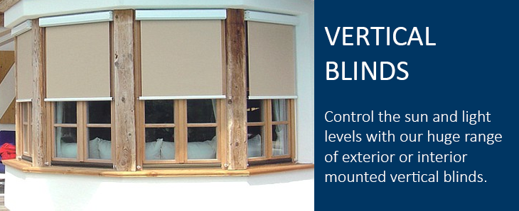 Vertical Blinds banner