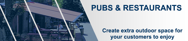 Pub, Bar & Restaurant Awnings | Samson Awnings