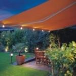 Markilux-1650-table-lights-night