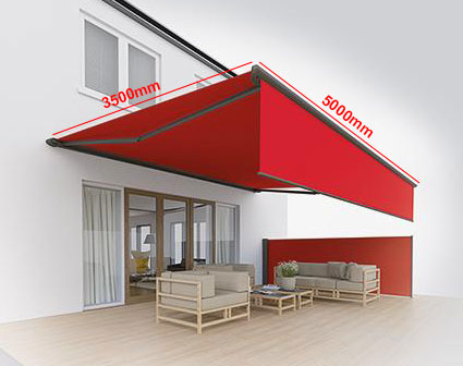 Retractable Awnings - Example Prices - Samson Awnings