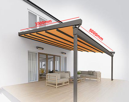 Fabric Canopies Example Prices Samson Awnings