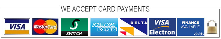 Card Payments Accepted
