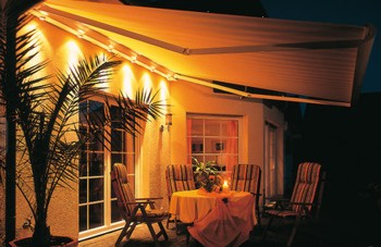 Weinor Heating Amp Lighting Systems From Samson Awnings