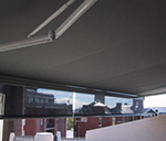 Markilux 1500 increased tension awning