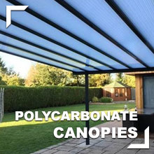 Polycarbonate Canopies