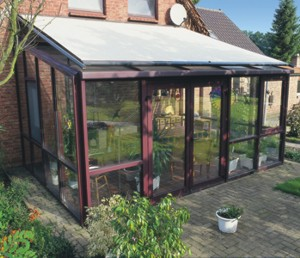 Markilux 8000 installed on conservatory roof