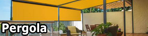 Markilux Pergola Large Fixed Terrace Patio Cover