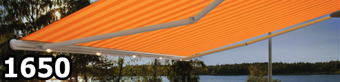 Markilux 1650 Semi Cassette Awning