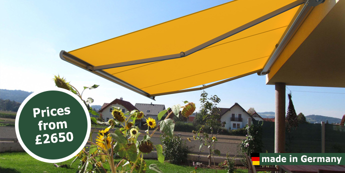 markilux 5010 from samson awnings terrace covers. Black Bedroom Furniture Sets. Home Design Ideas