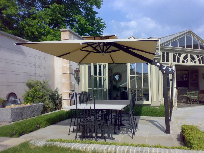 Poggesi Piazza Large Umbrella From Samson Awnings & Terrace Covers
