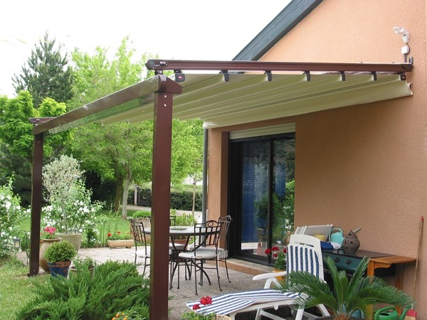 Weinor Terrazza Terrace Cover With Glass Roof · Gibus Med System Over Patio  ...