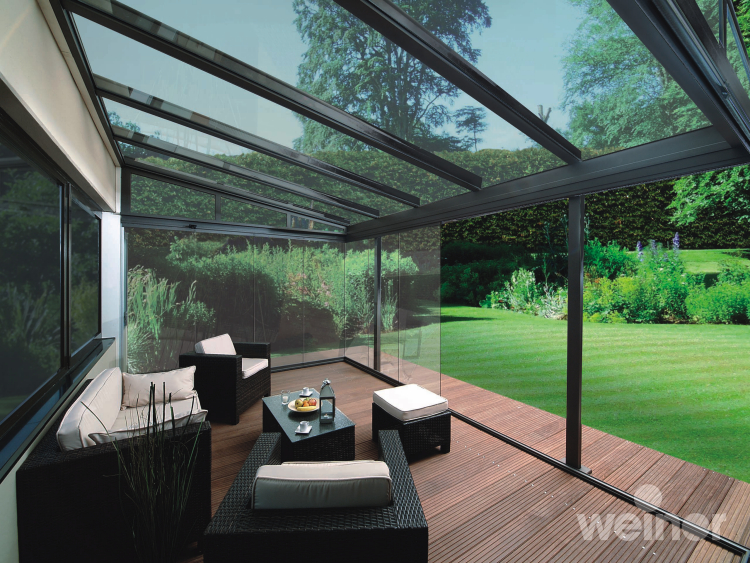 Glass room gallery from samson awnings terrace covers for Glass rooms conservatories