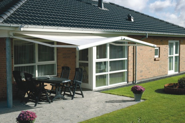 Markilux 1600 Skylife 2 with gabled roof
