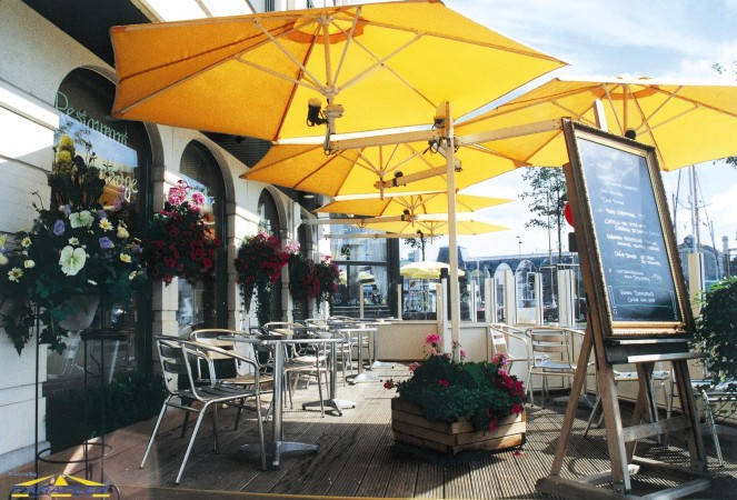 Paraflex Umbrellas From Samson Awnings Amp Terrace Covers