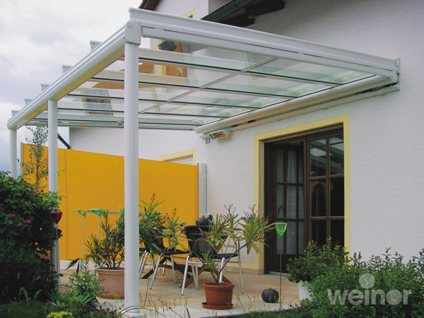 Weinor Terrazza with cassette side screen