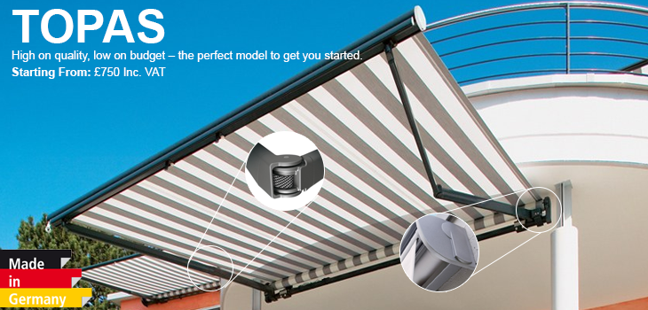 Weinor Topas Patio Awning From Samson Awnings Amp Terrace Covers