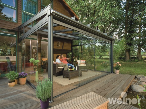 Garden glass rooms weinor patio covers verandas glass for House plans with garden room