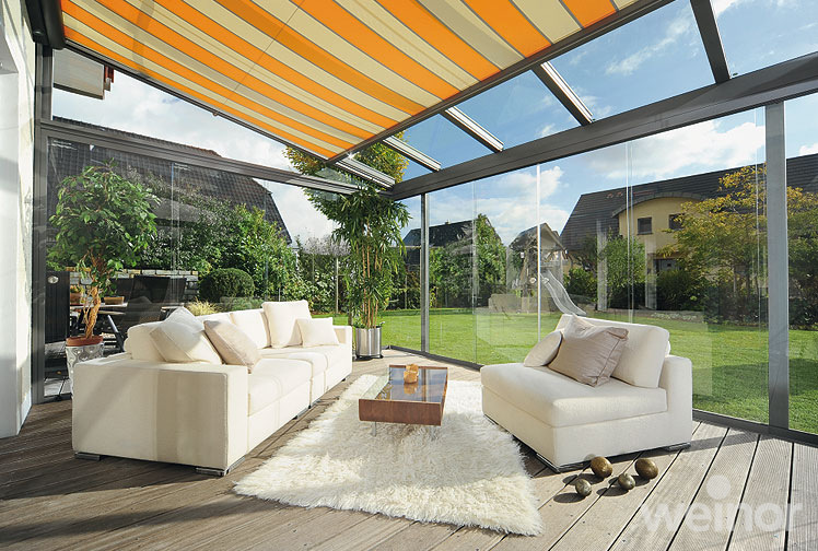 Weinor Glass Room with Conservatory Awning