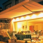 Weinor Opal 2001 Lux patio lighting