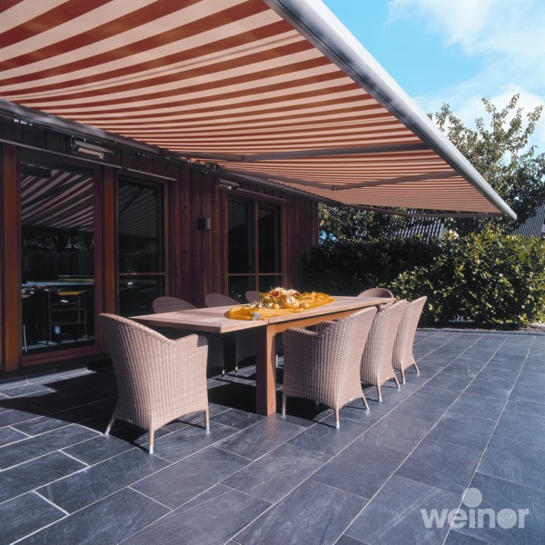 Weinor Opal 2001 over stone patio