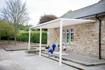 Piazza School Patio Terrace Cover