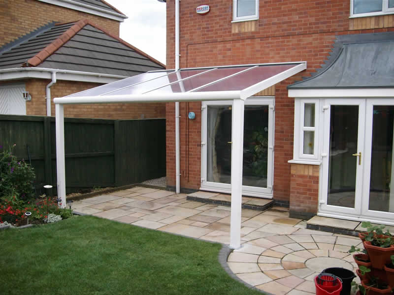 Terrace Covers Polycarbonate Glass Verandas Fixed Roof Terrace