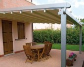 Gibus Med System Retractable Terrace Cover