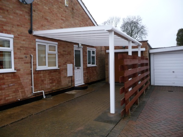 Samson Piazza carport installed by Samson Awnings