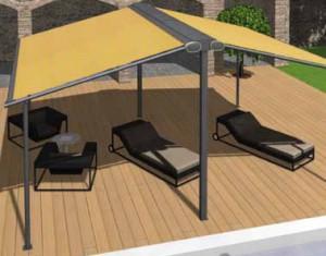 Markilux Syncra Fix Pergola retractable fabric roof