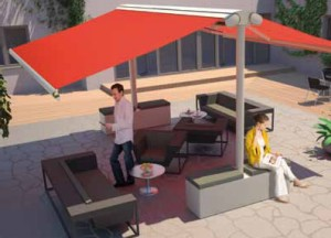 Markilux Syncra Flex 2 awnings free standing