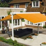 Markilux Syncra butterfly awning structure