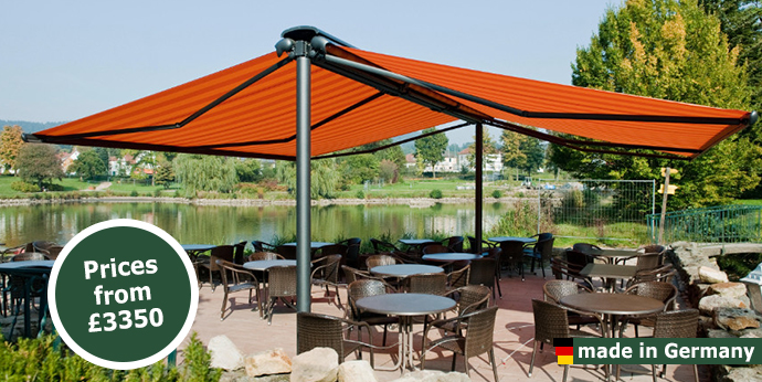 Markilux Syncra Self Supporting Patio Awning Markilux