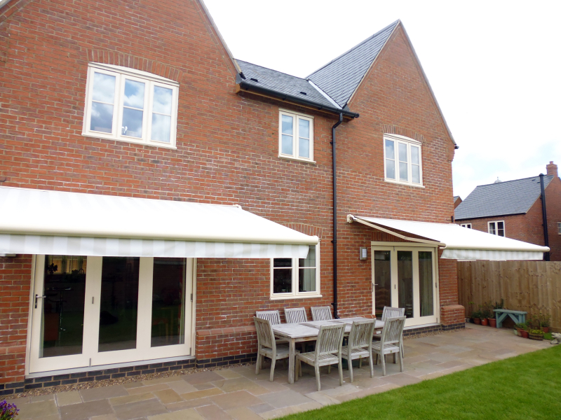 Two Markilux Awnings